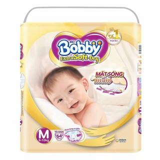 [Đủ size] Tã quần dán cao cấp Bobby Extra Soft Dry S74 M64 L58 XL52 XXL46 S70 thumbnail