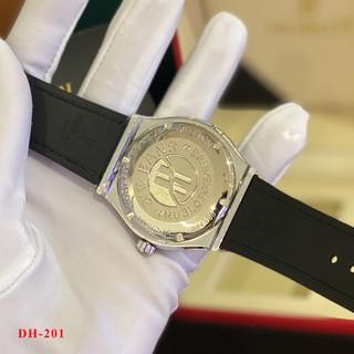 Đồng hồ nam HL - máy pin kim thể thao, tặng vòng bảo hành 12 tháng DH201 - Shop108