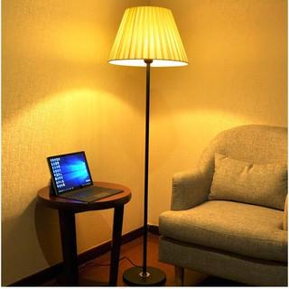 Đèn cây đứng trang trí nội thất phòng khách, phòng ngủ phong cách Châu Âu, đèn LED 6W công tác ở chao đèn