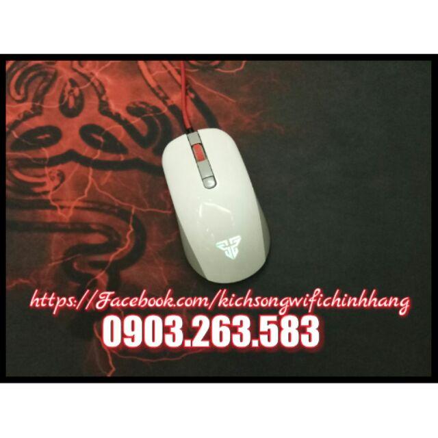 Chuột Chuyên Game Fantech LED RGB 2400dpi G10 ( Trắng ) Giá chỉ 150.000₫