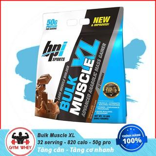 [Freeship + Quà] Sữa Dinh Dưỡng Tăng Cân Nhanh Mass Bpi Bpisports Bulk XL Muscle 15lbs (6.88kg) - Authentic 100% thumbnail