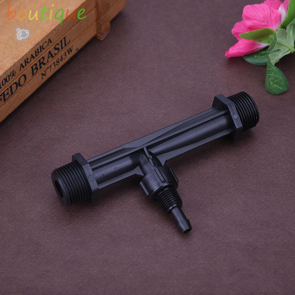 bou^♫G1/2'' G3/4'' Irrigation Venturi Fertilizer Injectors Garden Water Tube☆