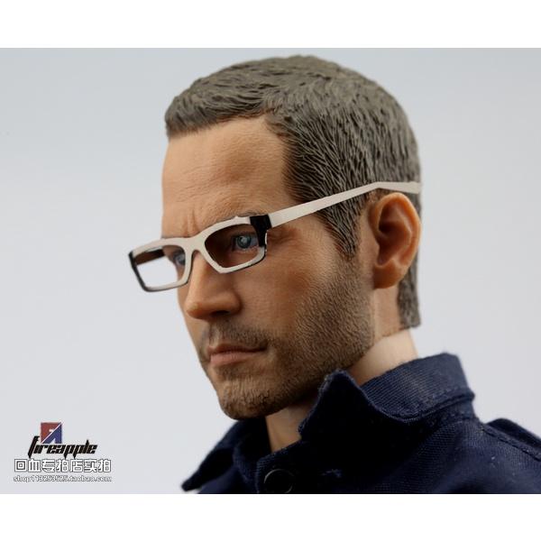 🌟Phụ kiện mô hình người lính tỉ lệ 1:6🌟 Mắt kính quân đội gọng kim loại mềm gấp gọn AAA...
