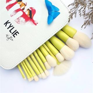 Bộ Cọ Kylie 14 cây Trắng kèm bao da.