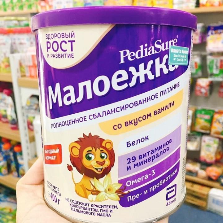 Sữa bột Pediasure 400gram - hàng xách tay Nga
