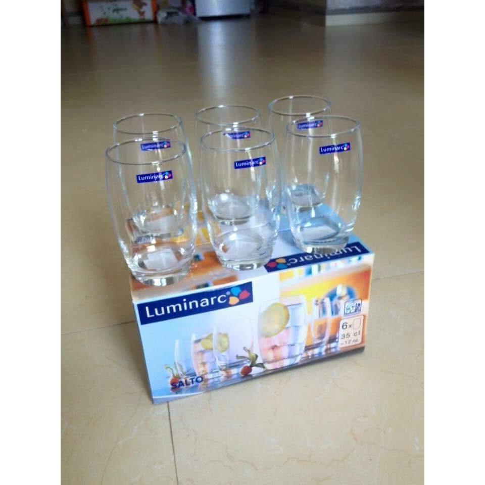 Bộ 6 cốc thủy tinh cao cấp Luminarc