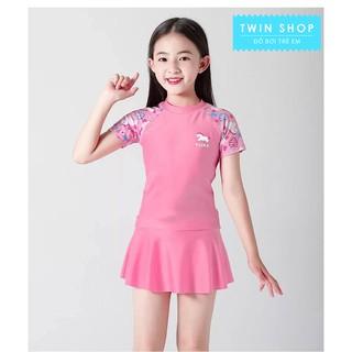 Đồ bơi bé gái, dạng váy(quần) rời xinh xắn, chất vải cao cấp cho bé từ 15-45kg