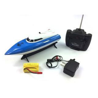 Tàu cano điều khiển từ xa, pin sạc,chạy dưới nước