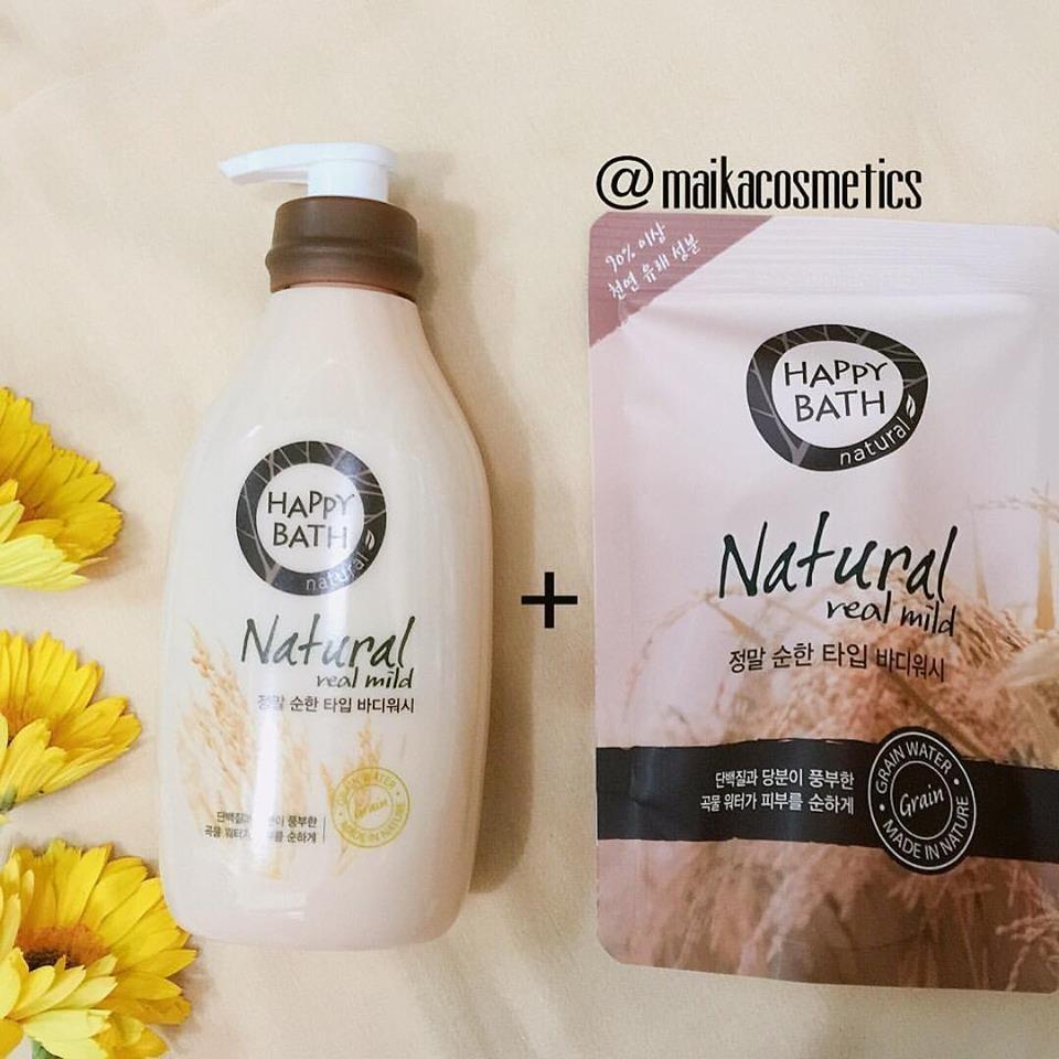 Sữa tắm cao cấp Happy Bath Hàn Quốc