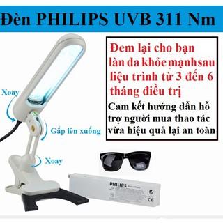 Đèn Philip UVB 311 Nm Chữa Bạch Biến – Vảy Nến – Viêm Da Cơ Địa (Hàng mới 100% chưa qua sử dụng)