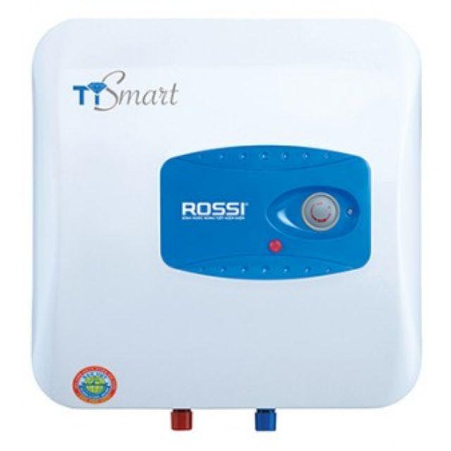 [Mã 1510ELSALE hoàn 7% đơn 300K] Bình nóng lạnh 15 lít Rossi TI Smart