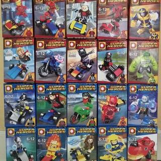Minifigures 20 nhân vật Marvel và DC