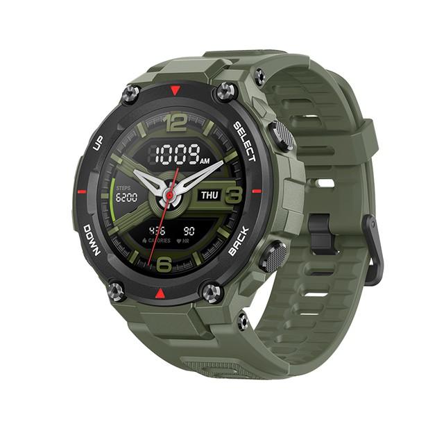 Đồng hồ thông minh tiêu chuẩn quân đội Xiaomi Amazfit T-Rex Quốc Tế - BH 12TH Chính hãng DGW