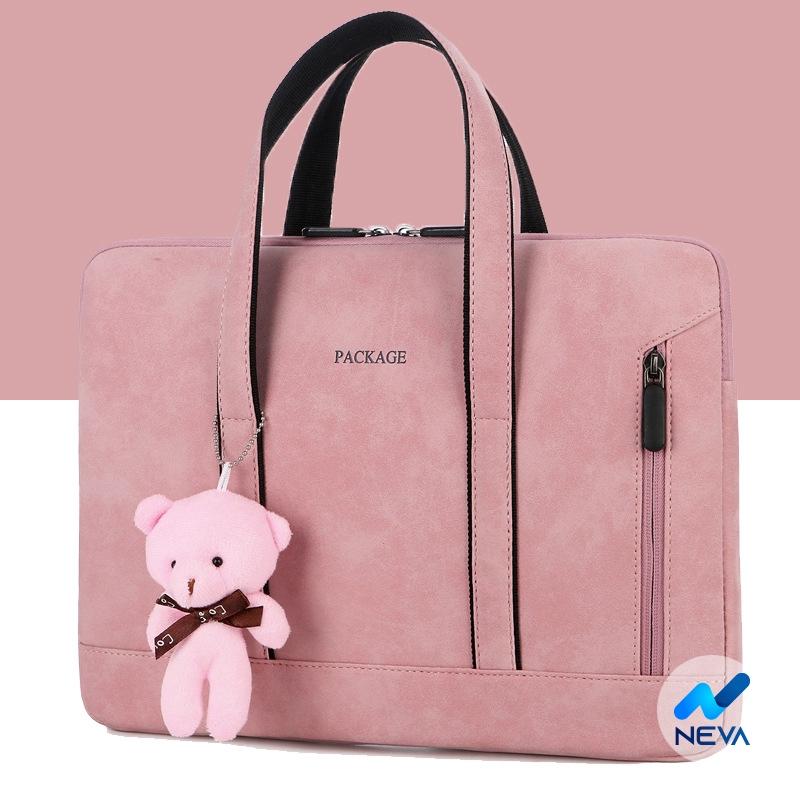 (HOT) Túi chống sốc laptop, macbook hàng cao cấp không kèm gấu NEVA8085