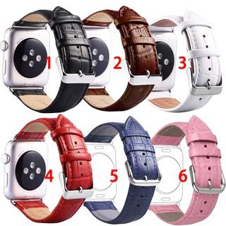 Dây đeo Apple Watch Strap 38/40mm 42/44mm Dây da hoa văn cá sấu cho iWatch Series SE 6/5/4/3/2/1