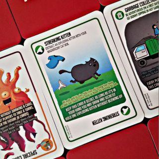 Mèo nổ mở rộng Streaking Kittens 20 lá Board Game