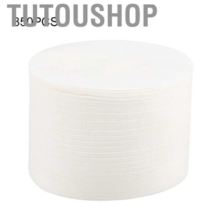 Tutoushop 350PCS Home Kitchen Round Coffee Filters Paper for Aeropress Maker