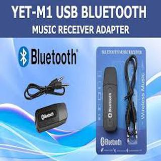 [Mã ELORDER5 giảm 10K đơn 20K] USB Bluetooth YET M1 tạo bluetooth chuyển loa thường thành loa bluetooth