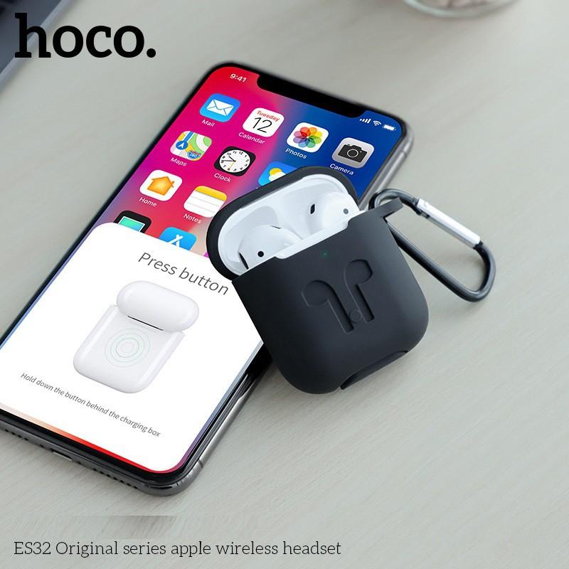 Tai nghe Bluetooth True Wireless Hoco ES32 Original series V5.0 (Trắng) - sạc không dây