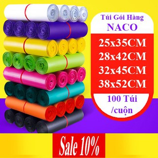 Túi Gói Hàng Niêm Phong Sản Phẩm Chuyển Phát Nhanh – NACO – Size Nhiều Màu – NCS026