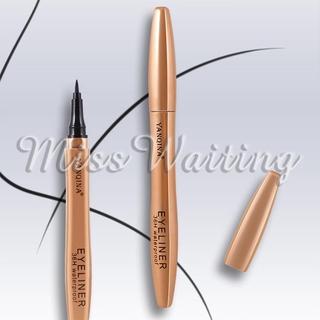 YANQINA Liquid Eyeliner Eye Liner Pen Eyeliner Pencil Beauty Smooth Black Pigment Cosmetic Waterproof Makeup Tool