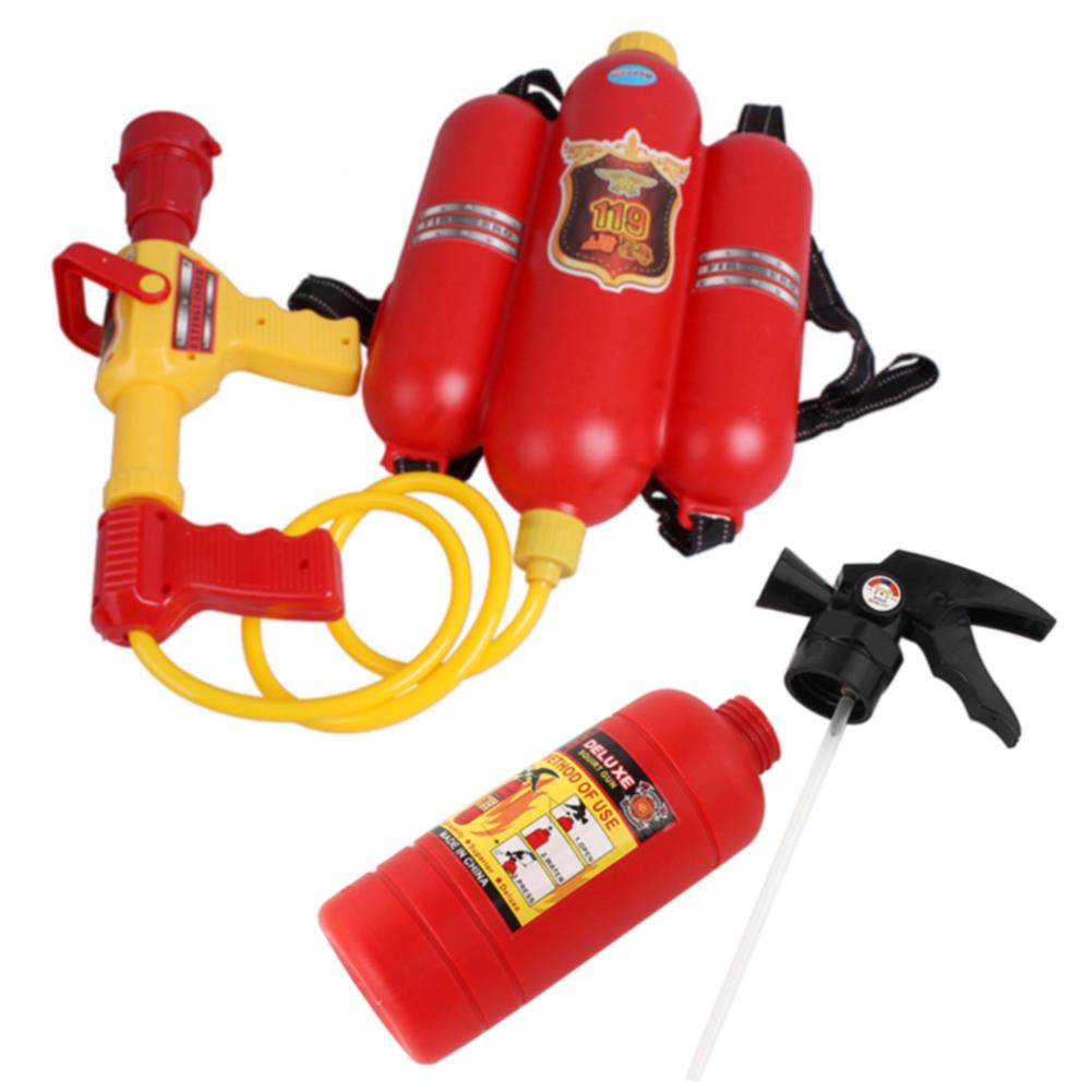 Children Red Outdoor Summer Plastic Beach Fireman Toy Durable