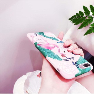pink Flamingo TPU Cover Mobile Phone Bags Back Cover Cases For iPhone