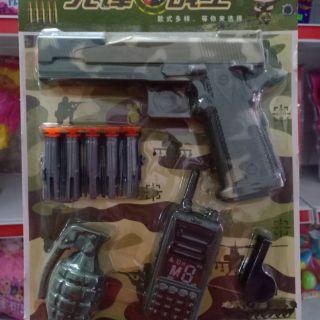 Súng đạn xốp đồ chơi trẻ em