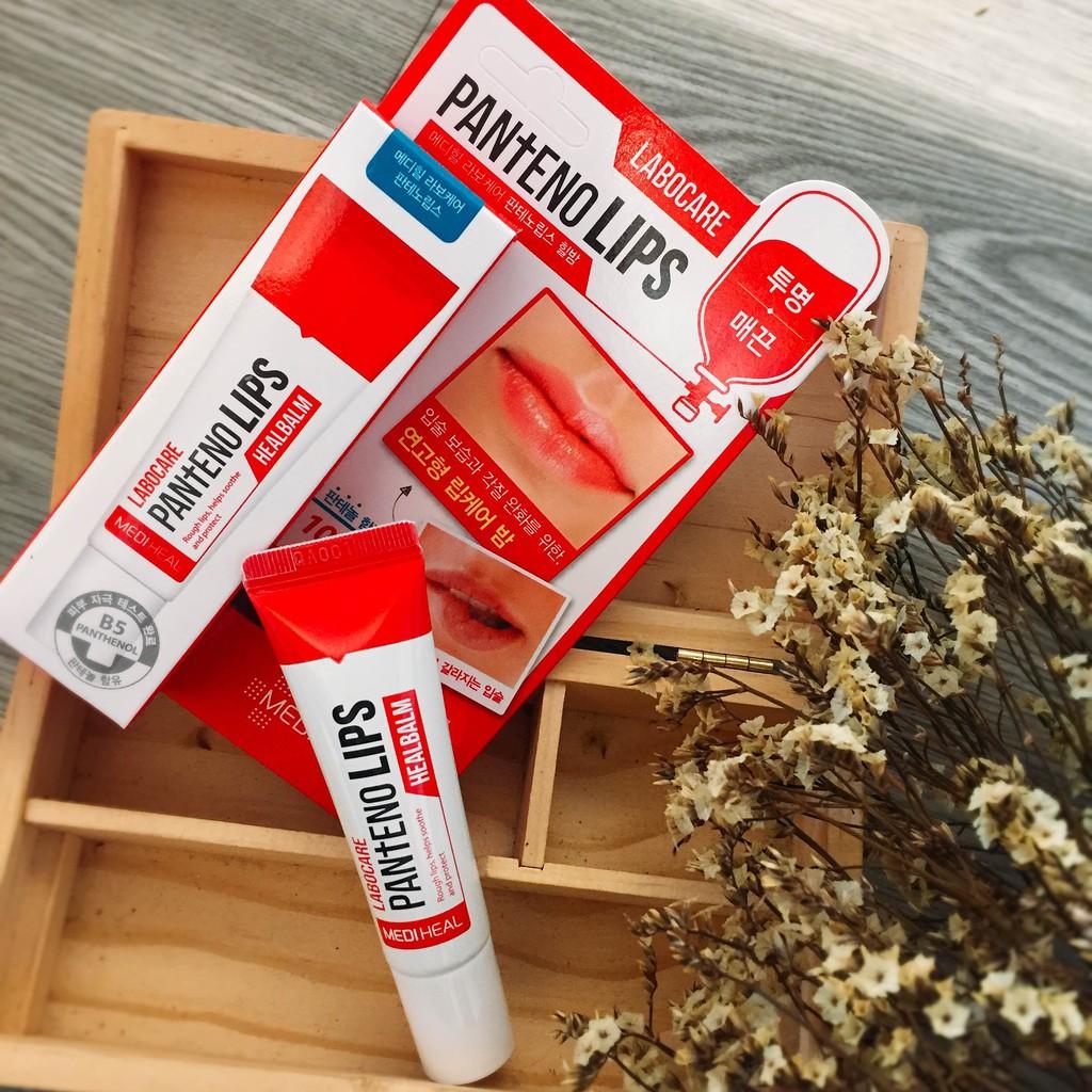 Son Dưỡng chuyên dùng cho môi khô nứt nẻ Mediheal Labocare Panteno Lips Healbalm 10ml ( Dùng Ban Đêm )