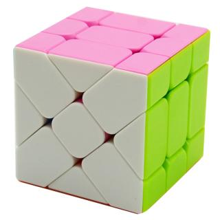 Fangge Fisher Cube 3x3x3 Speed Puzzles Magic Cube Learning Educational Toys For Children Kids Cubo