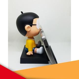 [Siêu KM] Đồ chơi Nobita lắc đầu để ô tô bàn làm việc kiêm cả đế kê điện thoại