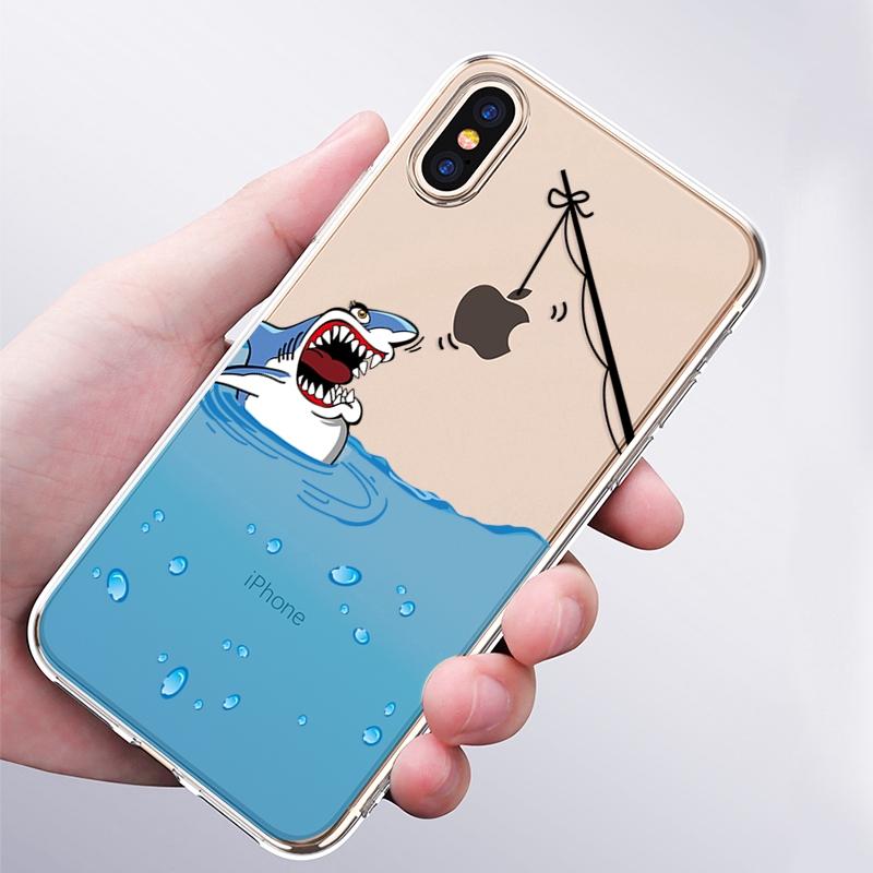 Ốp điện thoại in hình nhiều mẫu mã cho iPhone 5 S/E 6 6S 7 8 Plus X XS MAX XR