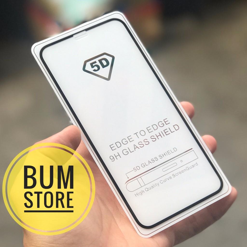 Iphone X - Cường Lực 5D Cao Cấp Full Màn Hình