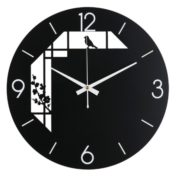 [ XẢ HÀNG ] Đồng Hồ Treo Tường Cao Cấp - XHDH 019 - Đồng Hồ TReo Tường Nhập Khẩu - kích thước 35*48cm