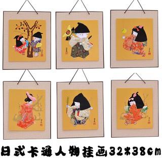 Tranh Treo Tường Trang Trí Hình Nhân Vật Hoạt Hình Nhật Bản