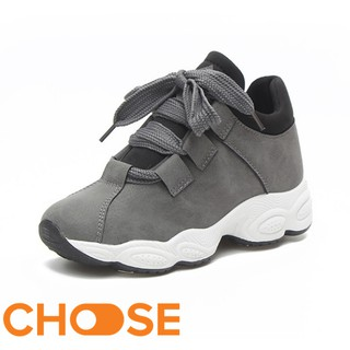 Giày Nữ Vải Thể Thảo Lười sneaker Choose Đế Cao Su Đúc Nguyên Khối Giày Tăng Chiều Cao GK9K1 thumbnail