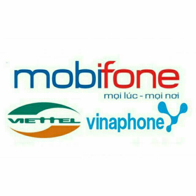 Thẻ điện thoại Mobi, Viettel, Vina
