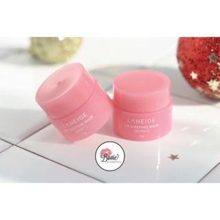( Mẫu mới 2019) Mặt nạ môi LANEIGE Lip Sleeping Mask [ Berry] - Mini Size 3gr thumbnail