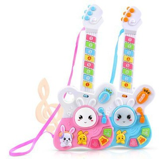 Kids Toy Musical Guitar Baby Educational Toys Rabbit