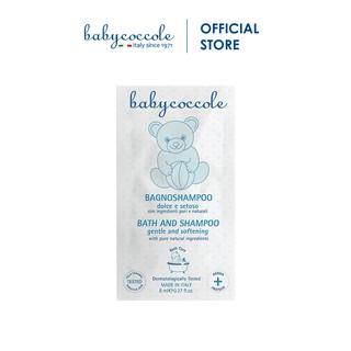 Sữa Tắm Gội cho Bé Babycoccole 0M+ Gói Du Lịch 8ml thumbnail