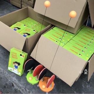 Bộ bóng bàn tập phản xạ _Bóng bàn ko cần dùng bàn ( bộ gỗ ) thumbnail