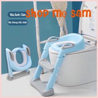 [ XẢ KHO] Nắp bồn cầu có thang đi vệ sinh cho bé