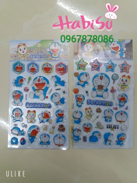 Sticker dán Doremon