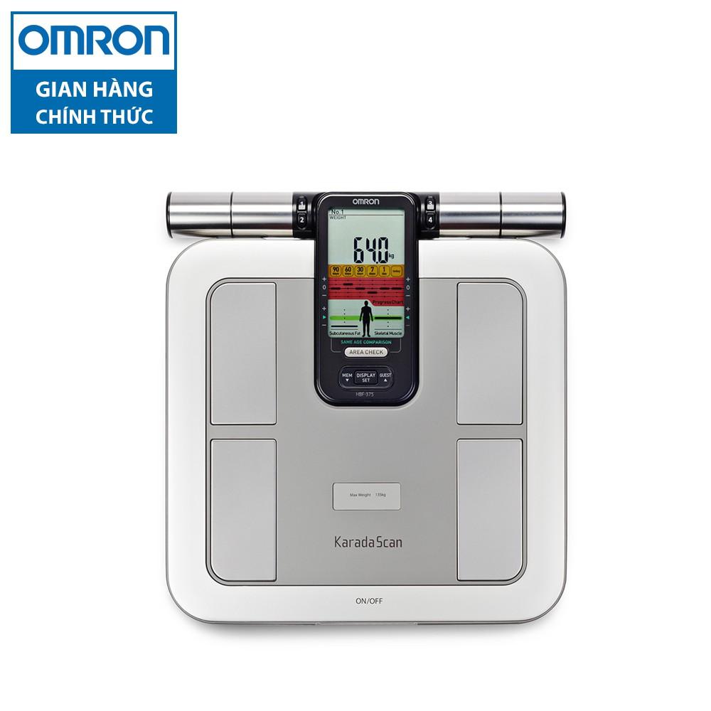 [Nhập OMRONOCT giảm 100K] Máy cân đo lượng mỡ cơ thể Omron HBF-375-AP