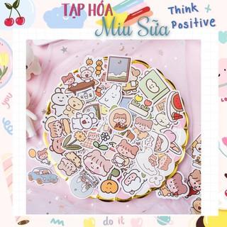 [CÓ SẴN] Set 100 sticker dán hình siêu siêu dễ thương - MiuSua thumbnail