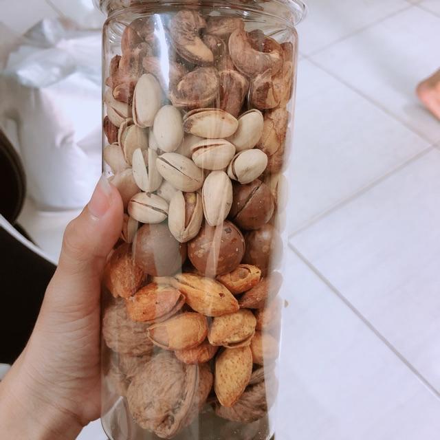Hộp mix các loại hạt dinh dưỡng 500gram