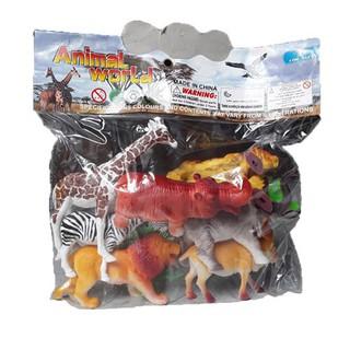 Túi đồ chơi mô hình nhựa các loài vật BF6977 – qn6y7f