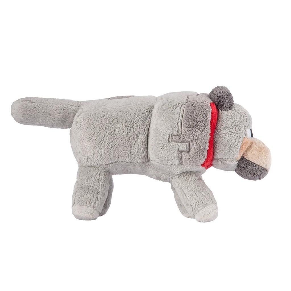 Thú nhồi bông Minecraft Chó sói Loại To 38cm