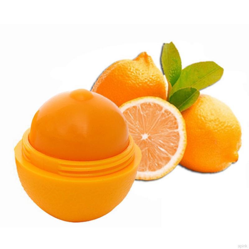 [Hàng mới về] Son dưỡng môi chứng nứt nẻ khô môi giữ ẩm hình trái chanh