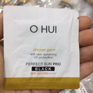 Sample Kem chống nắng Ohui Perfect Sunblock Black